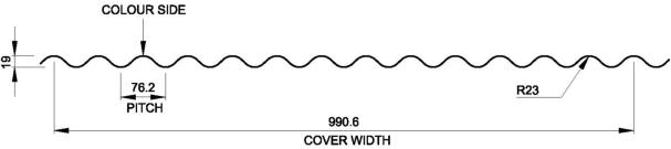 AC 13.5-3 (3 inch corrugated)