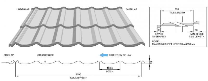 pantile-rooftile